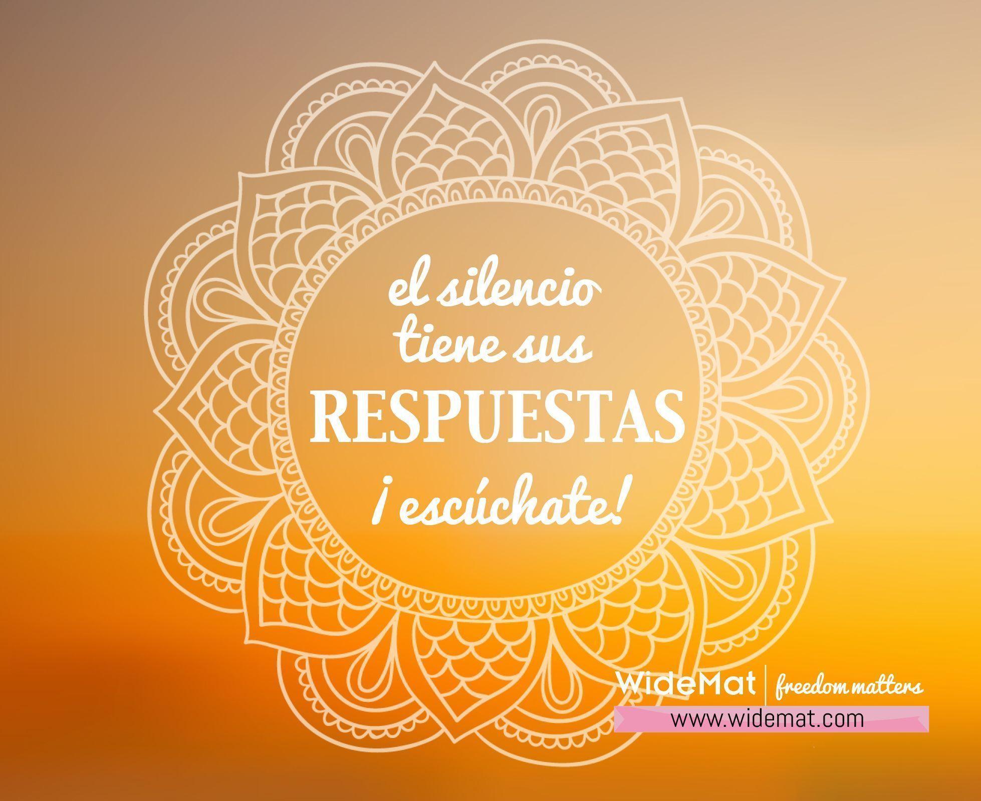 el silencio tiene sus respuestas