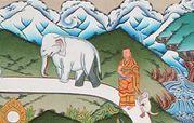 nivel séptimo de la meditación budista