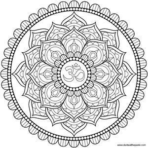 Símbolos del yoga: Mandala