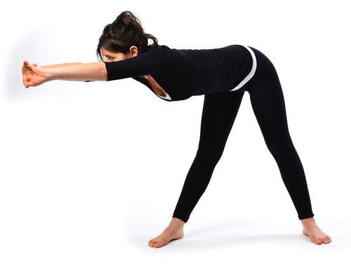 Katichakrasana yoga en casa