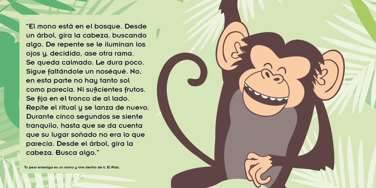 silencio interior: el mono interior