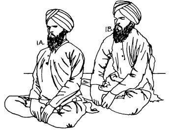 Kundalini yoga postura fácil