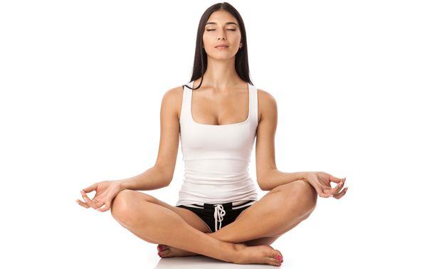 cmo meditar Postura Sukhasana