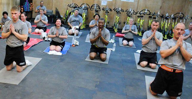 Yoga en el pentagono