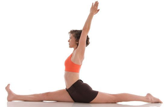 Hanumasana postura de yoga