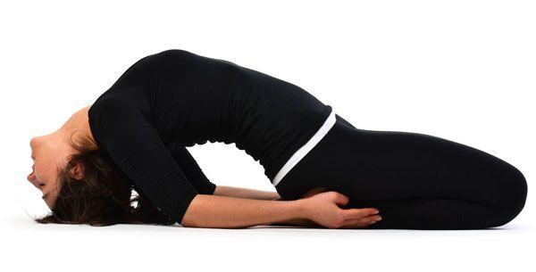 Postura Supta-Vajrasana