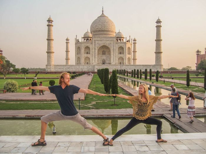 El yoga te ayuda a eliminar el estrés del viajero