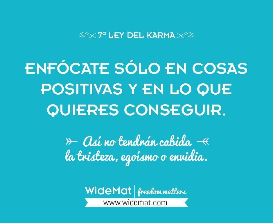 Enfócate sólo en cosas positivas y en lo que quieres conseguir