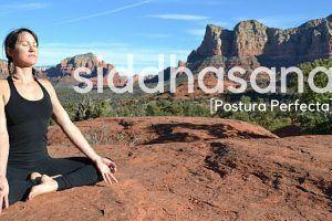 Siddhasana o Postura Perfecta de Yoga