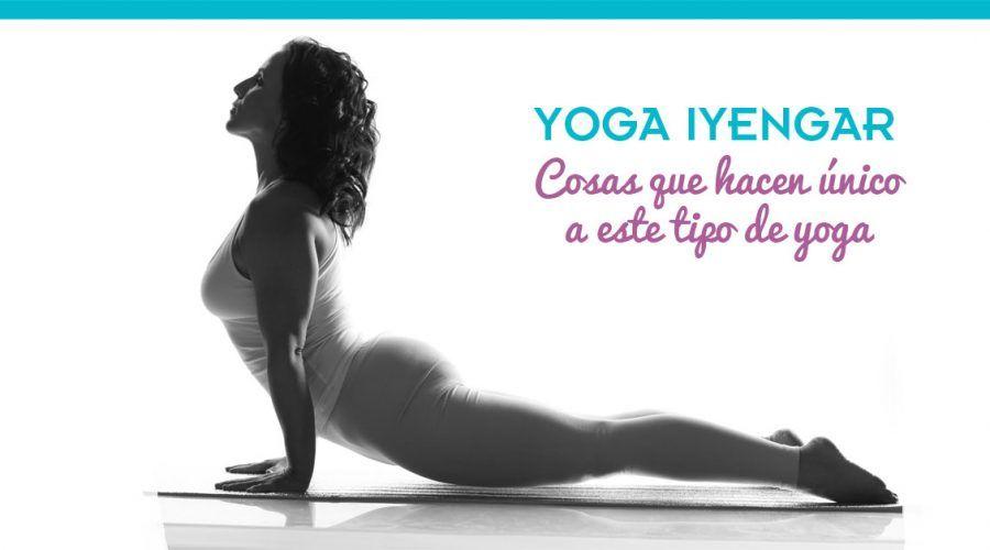 Yoga Iyengar ¿es para ti? Beneficios y características