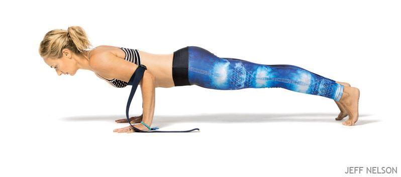 La cinta de Yoga te ayuda a realizar esta asana