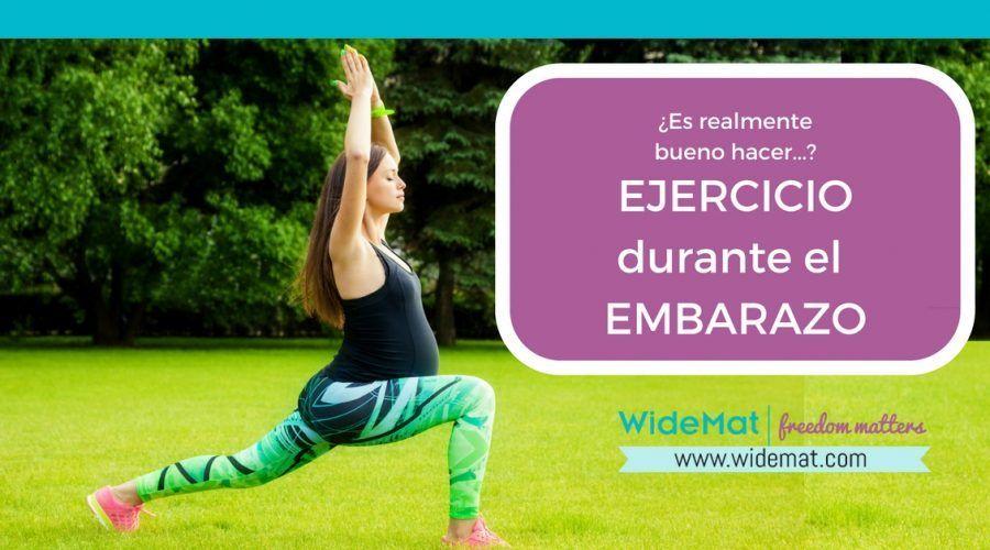 ¿Es realmente bueno el ejercicio durante el embarazo?