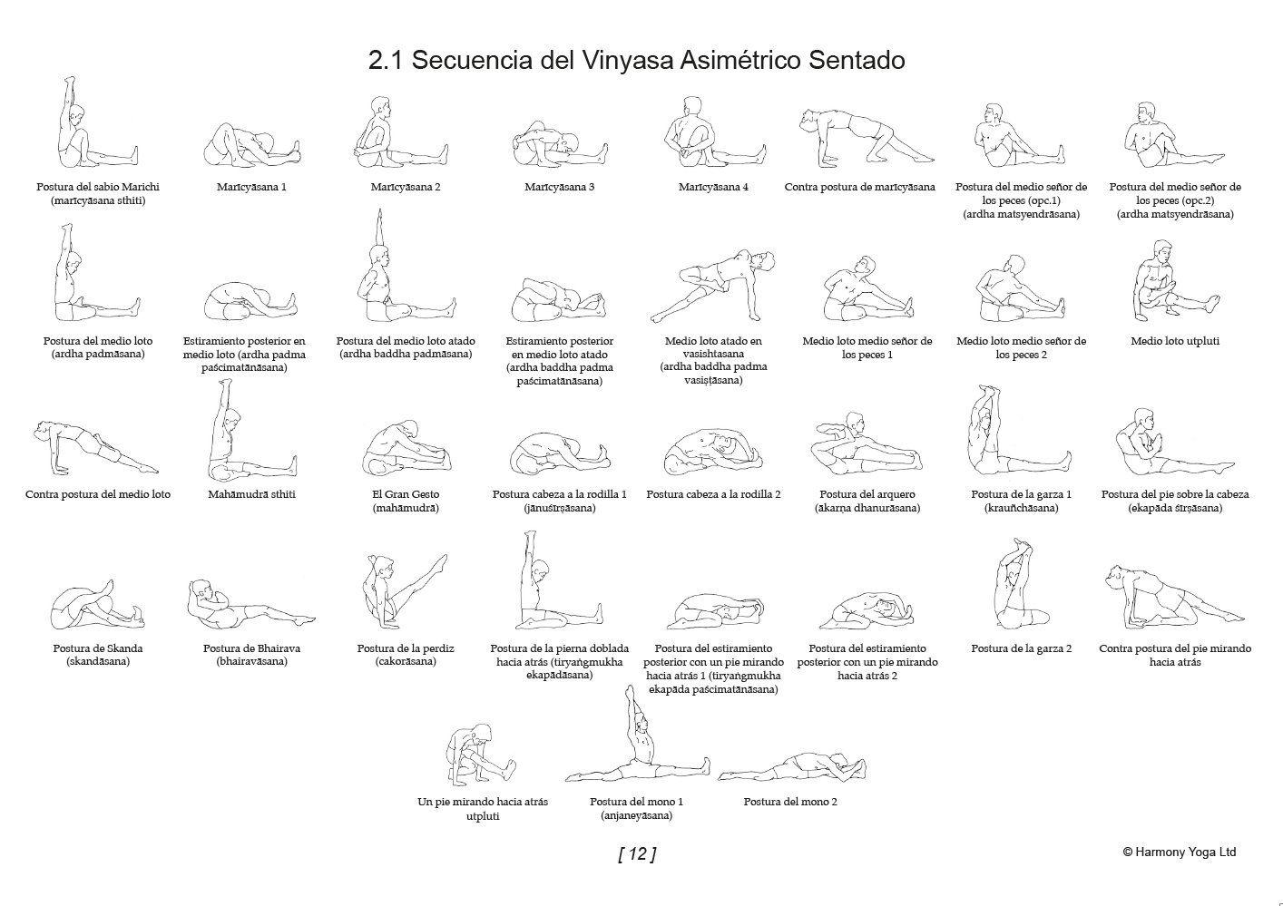 Muestra de uno de los mejores libros de Vinyasa Yoga que podemos leer en español