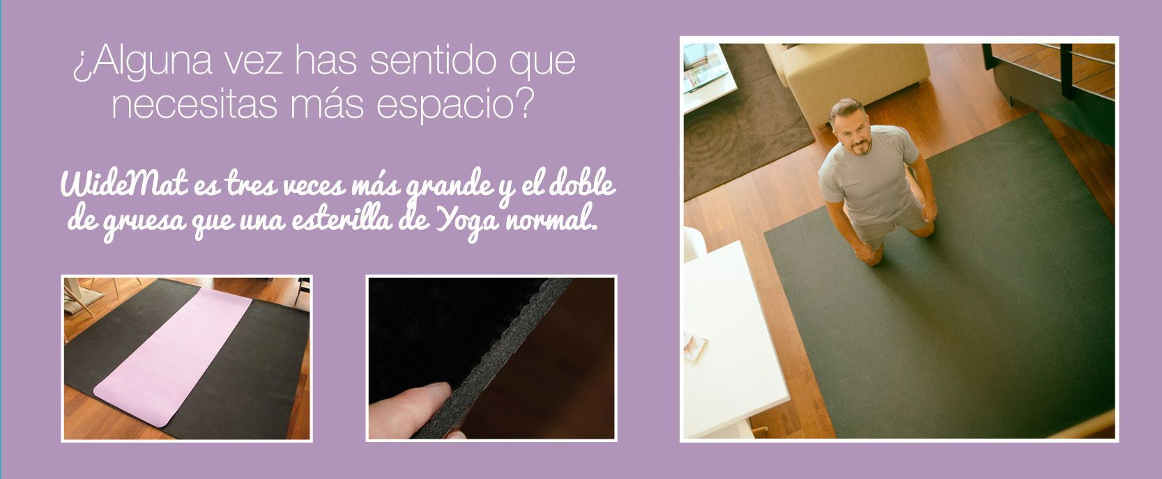 Esterilla de yoga widemat