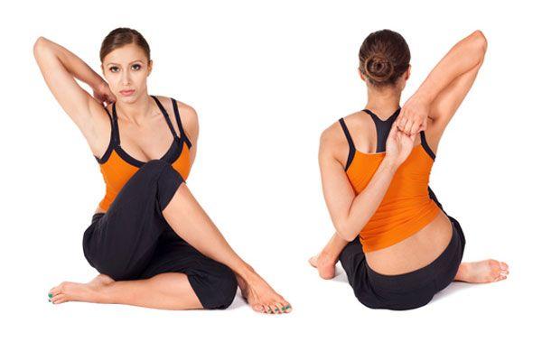 Postura de yoga para el dolor de espalda
