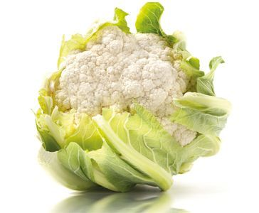 La coliflor tiene pocas calorías y muchas vitaminas