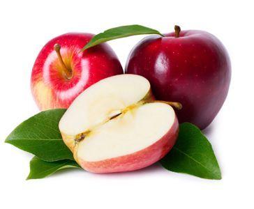 Las manzanas tiene muy pocas calorías y muchas vitaminas