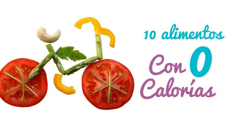 Alimentos con pocas calorías: 10 alimentos de 0 calorías