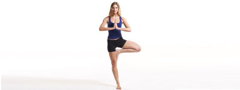 Postura de yoga para principiantes. Yoga para relajarse