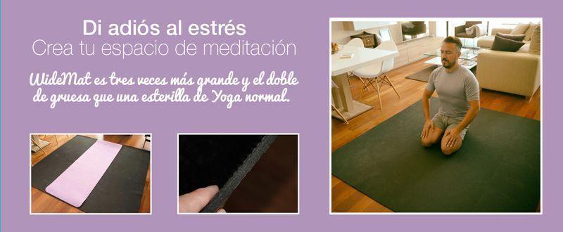 esterilla de yoga para meditación