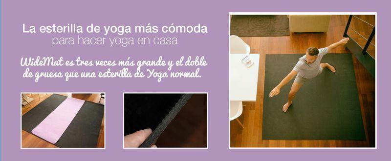la esterilla de yoga más cómoda