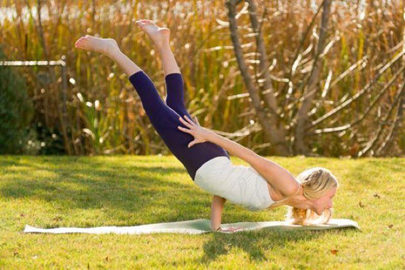 Una de las posturas de yoga más difíciles