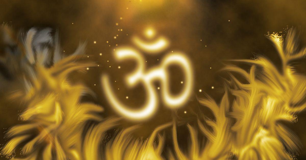Símbolo Om Significado Imágenes Mantras Y En El Teclado