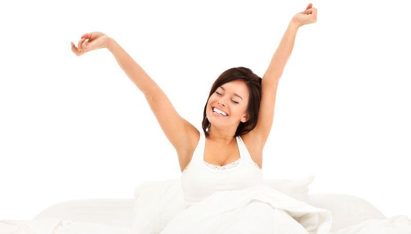 dormir bien y descansar