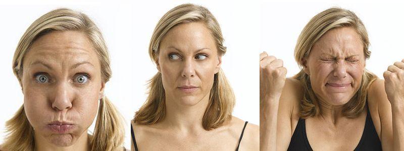 Ejercicios de yoga facial