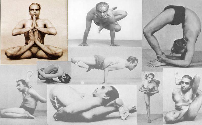 posturas Iyengar