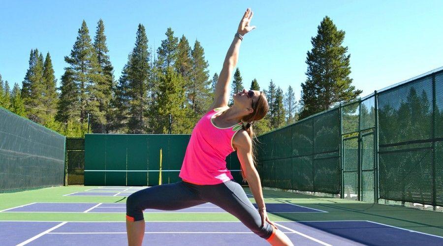 Yoga para tenistas Si pierdes, no pierdas la lección