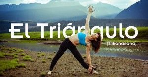 postura del triángulo