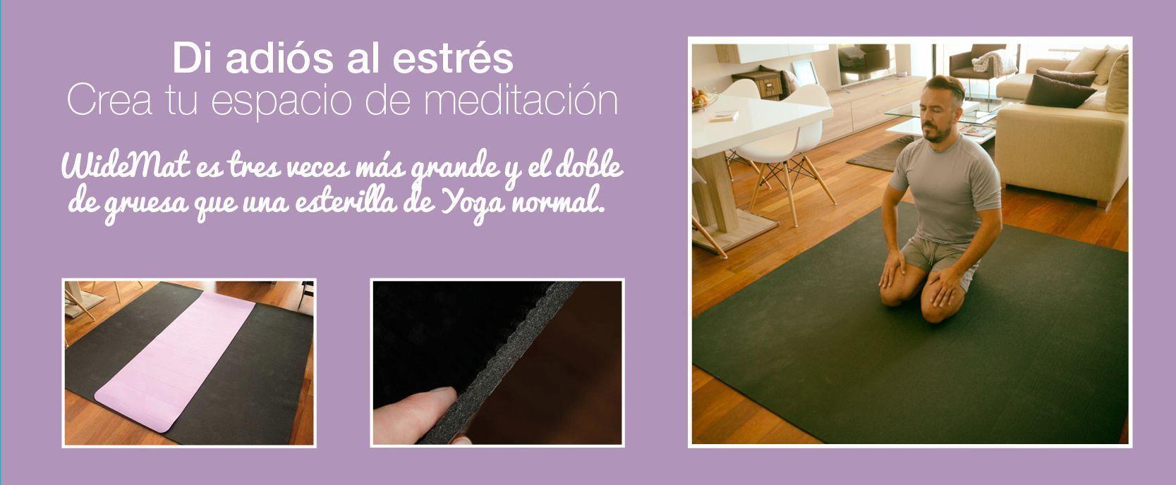 La mejor esterilla de yoga y meditación