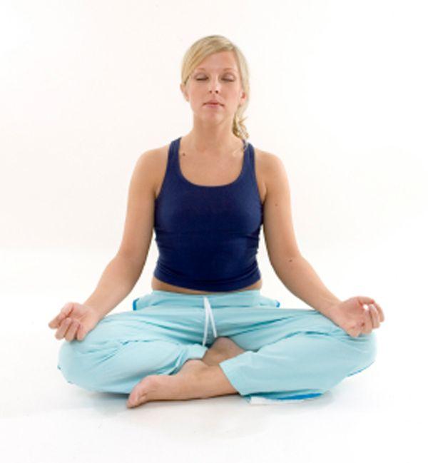 Cómo meditar. Postura siddhasana