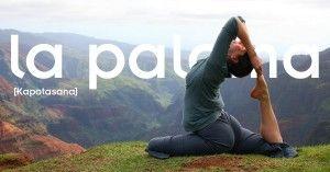 Kapotasana o Postura de la Paloma