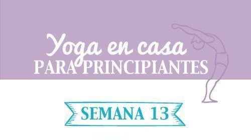 Yoga en casa semana 13 pdf