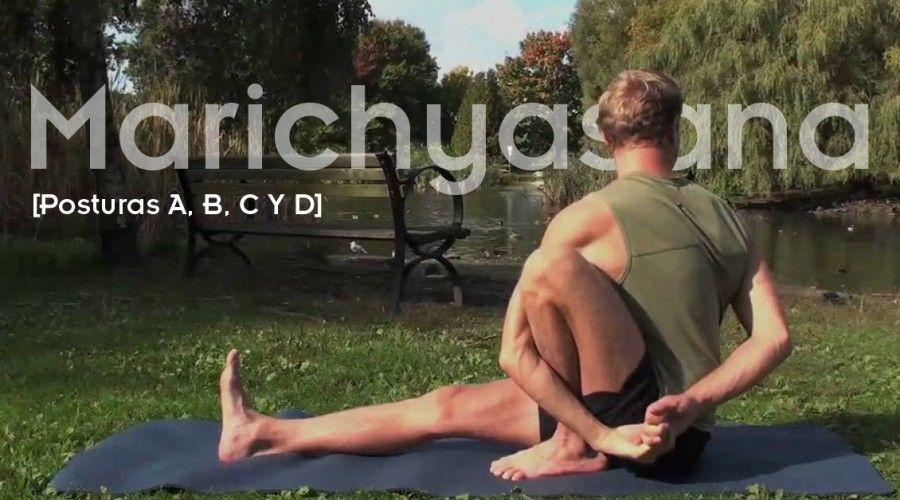Marichyasana: las 4 variantes con vídeos