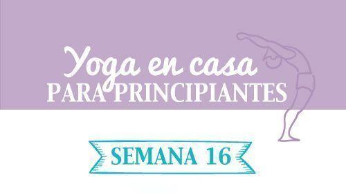 Descárgate el pdf de yoga en casa semana 16