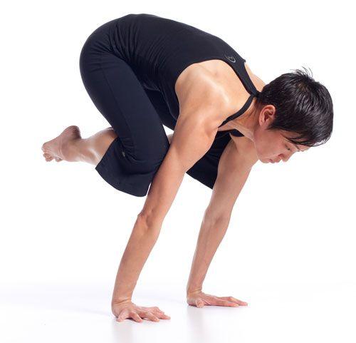 ¿Cómo hacer la postura de la grulla?
