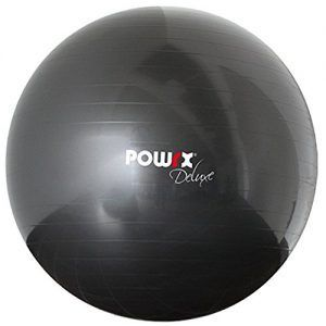 POWRX Deluxe – Pelota de gimnasia, yoga, pilates