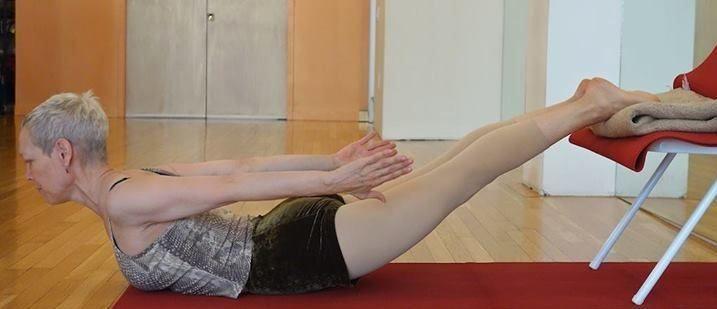 La Silla de Yoga también es una ayuda estupenda