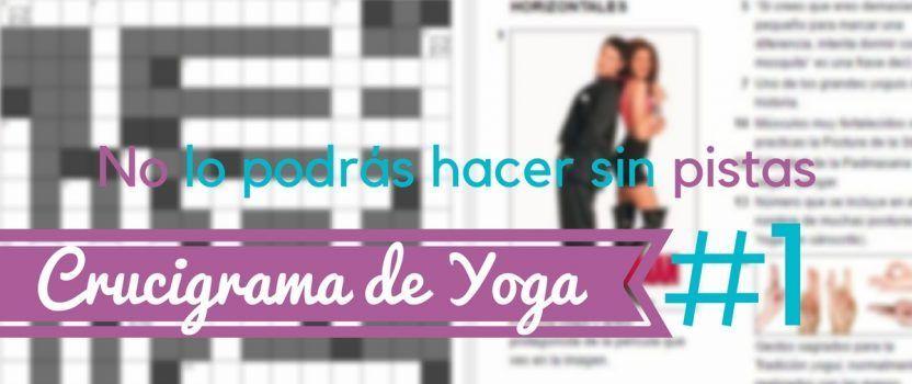 Crucigrama de Yoga #1
