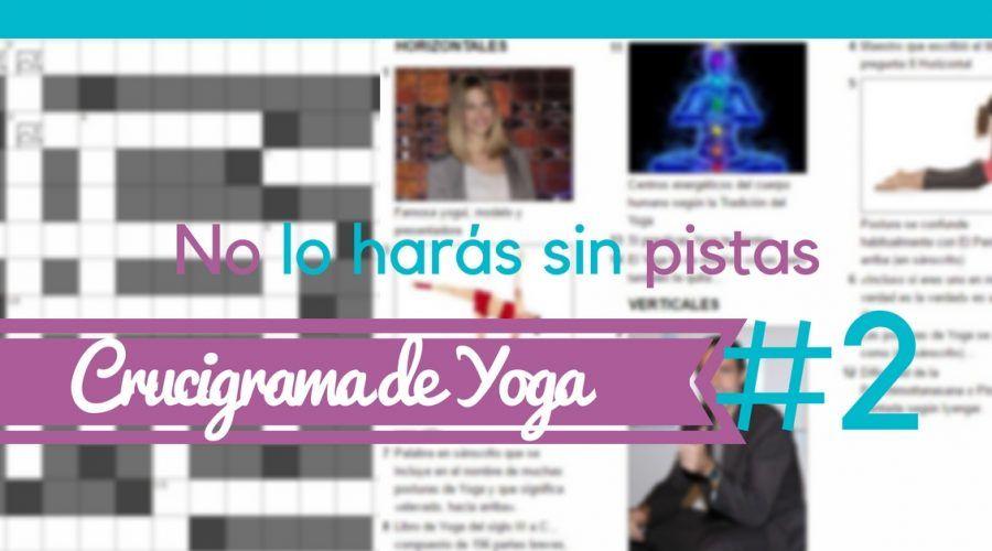 Crucigrama de Yoga #2