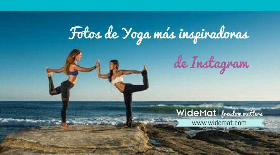 Las fotos de Yoga más inspiradoras de Instagram