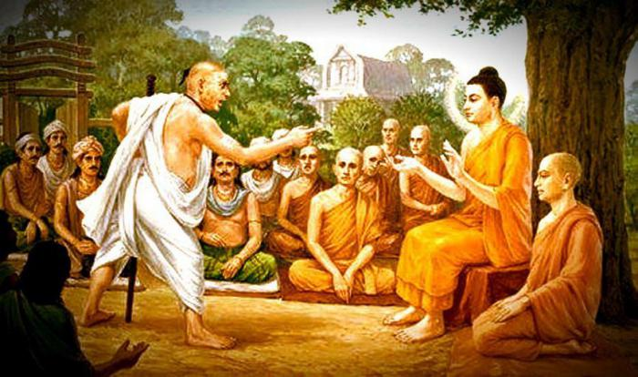 Uno de los textos para reflexionar más conocidos es el del hombre que escupió a Buda