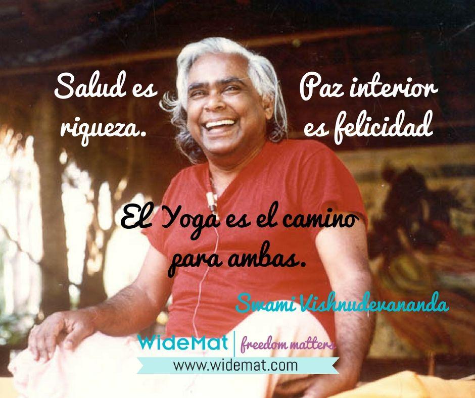 Vishnudevananda, el Yoga es el camino (energía de diez rupias)