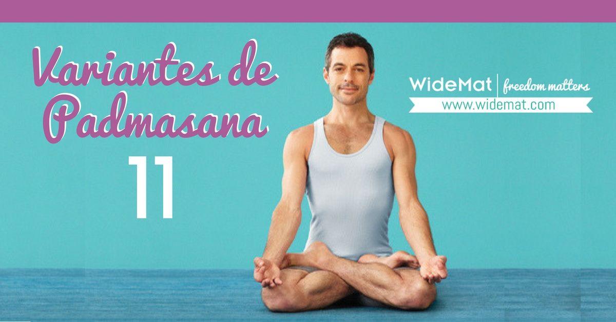 Las 11 variantes de la Padmasana o Postura del Loto - WideMat c569af77d7dc