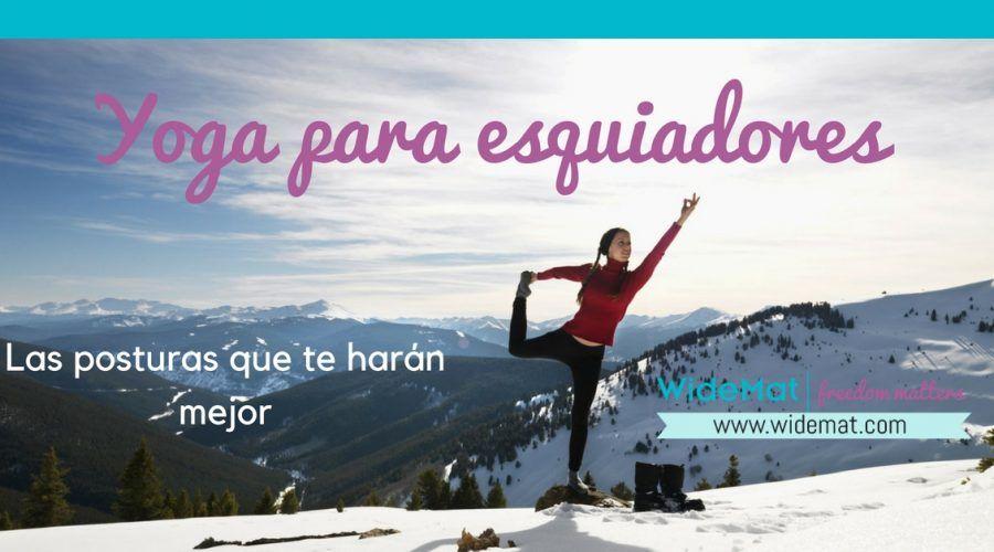 Yoga para esquiadores – El mejor plan de entrenamiento
