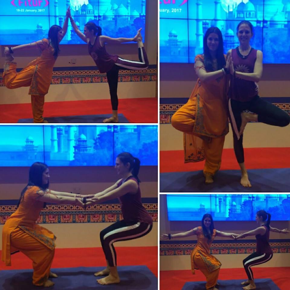 Yoga en pareja WideMat
